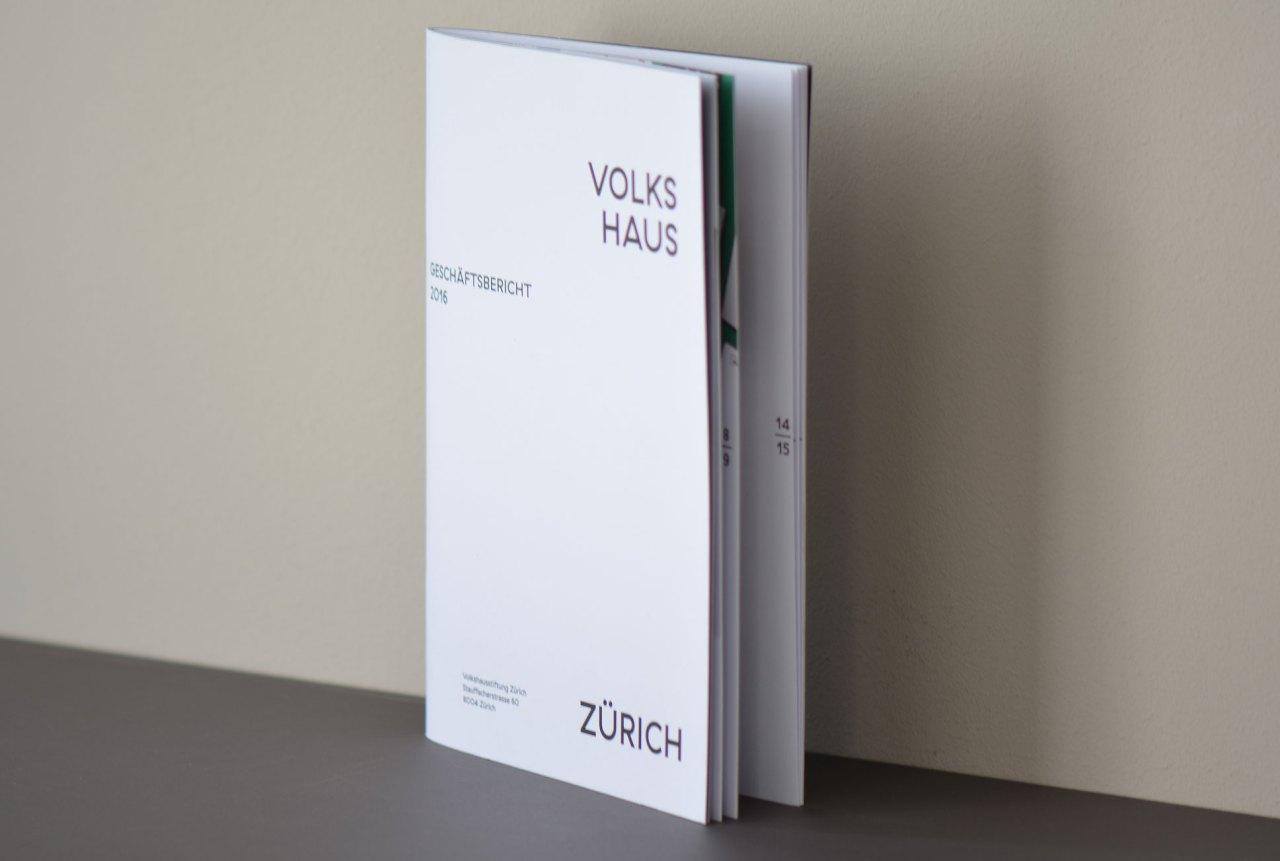 Geschäftsbericht Gestaltung