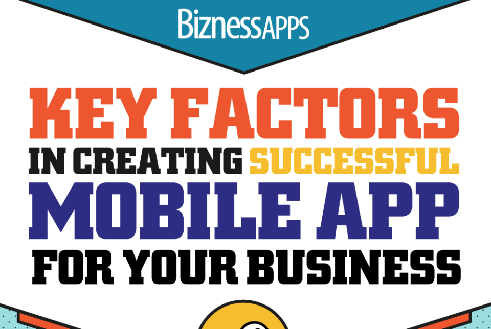 Key Factors in Creating Successful Mobile App for Your Business [Infographic]