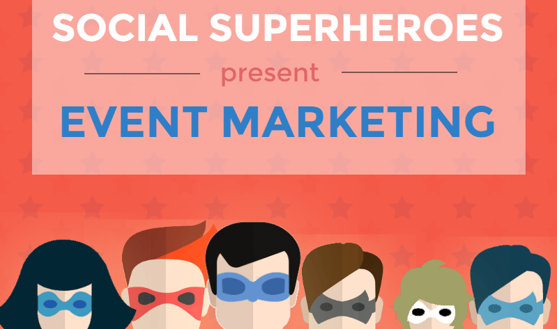 Social Superheroes Present Event Marketing [Infographic]