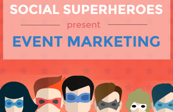 Social Superheroes Present Event Marketing [Infographic]