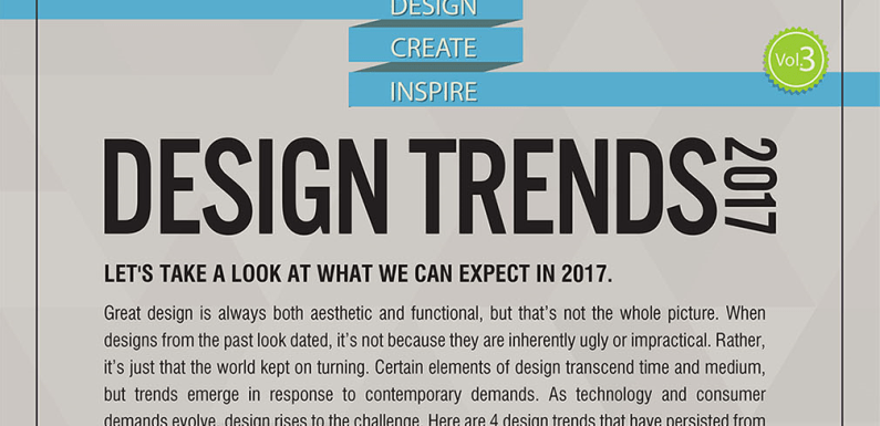 Design Trends 2017 [Infographic]