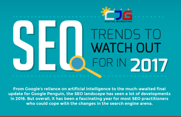 Top 8 SEO Trends to Watch Out for in 2017 [Infographic]