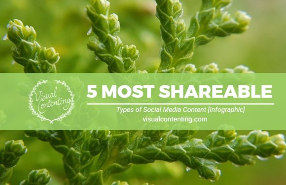 5 Most Shareable Types of Social Media Content [Infographic]