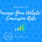 30 Quick Ways to Increase Your Website's Conversion Rate [Infographic]