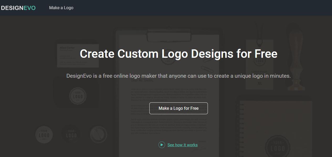 Make a Custom Logo with DesignEvo
