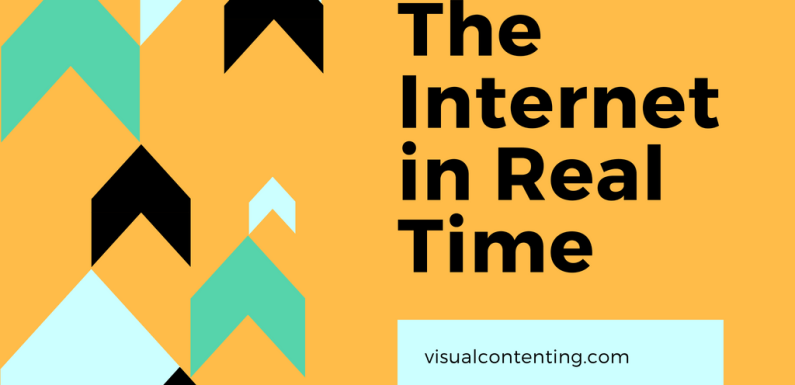 The Internet in Real Time [Interactive Infographic]