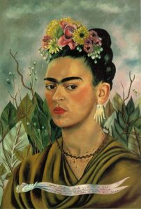 Self Portrait, Kahlo, 1940