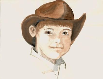 TX boy in cowboy hat