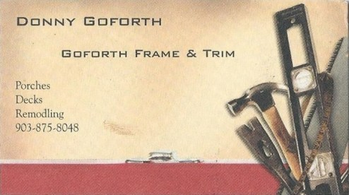 Donny Goforth twig furniture