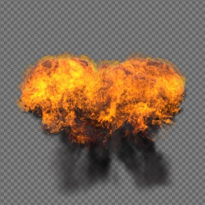 Explosion VFX - Alpha Channel
