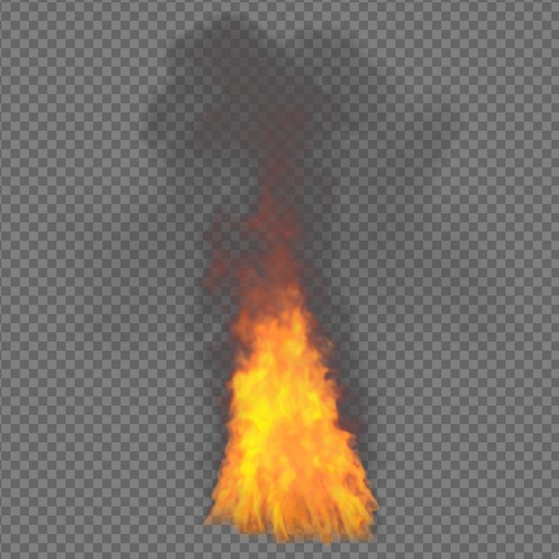 Free Fire Effect - alpha channel