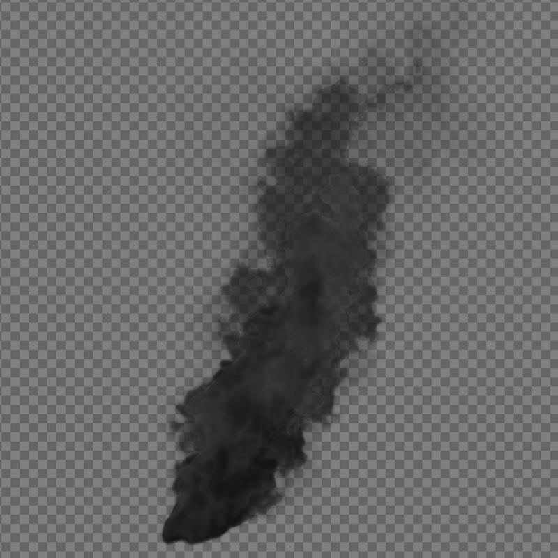Free Smoke effect - alpha channel