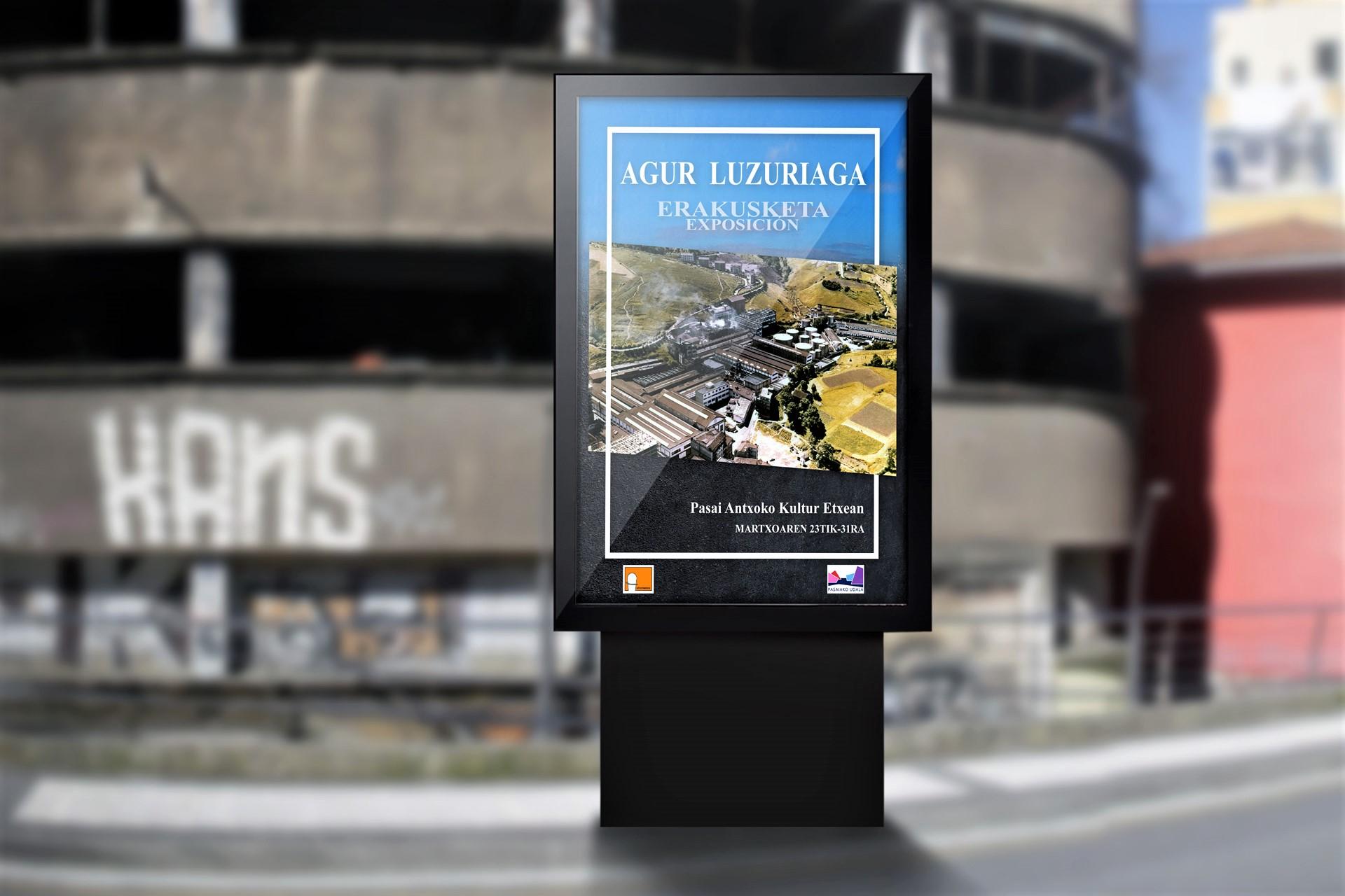 """Antxotarrok Historia Mintegia – Exposición """"Agur Luzuriaga"""""""