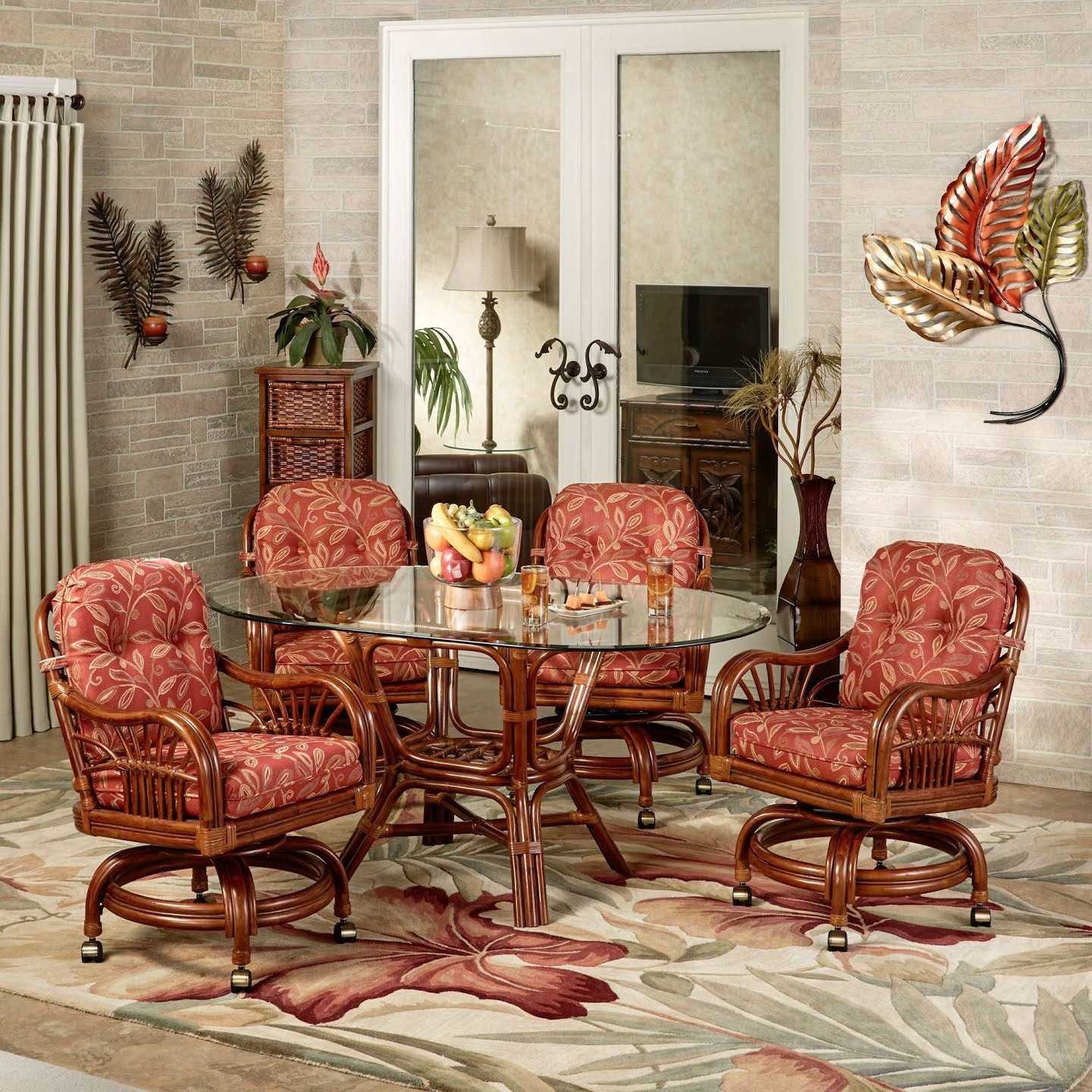 50 Dinette Sets With Caster Chairs Youll Love In 2020 Visual Hunt