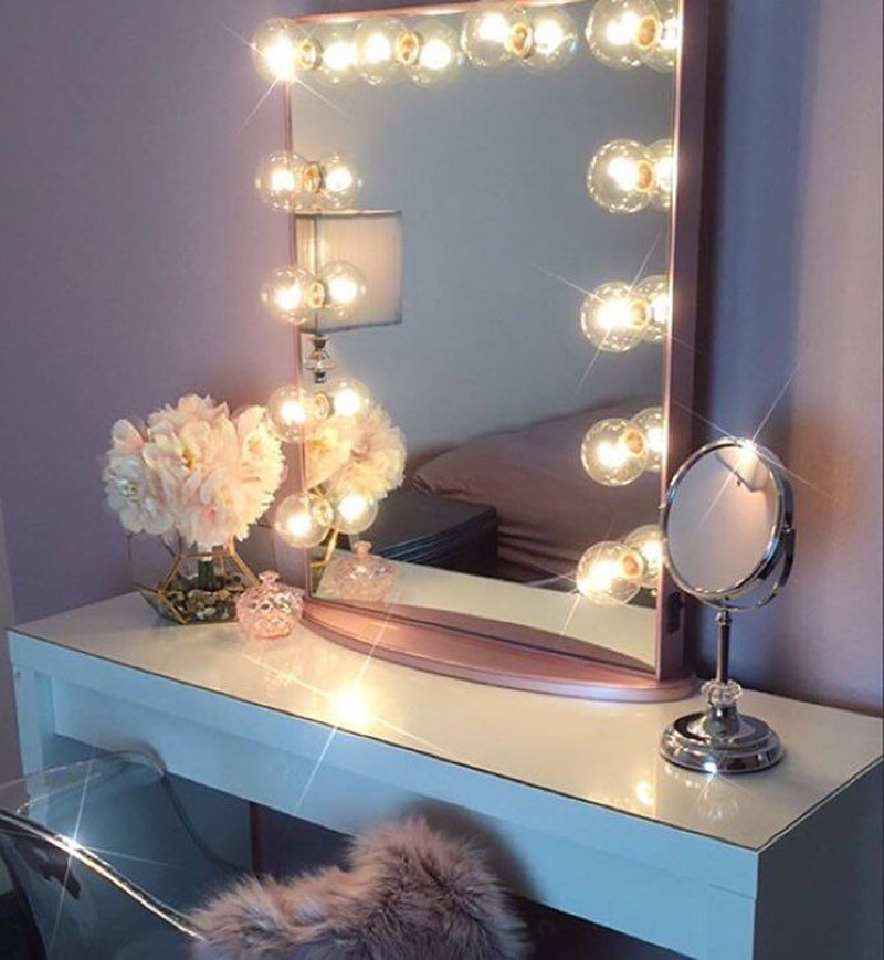 makeup vanity table with lights you ll