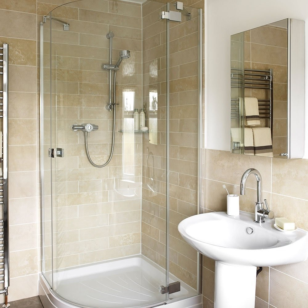 Corner Shower For Small Bathroom You'll Love in 2020 ... on Small Space Small Bathroom Ideas With Shower id=14316
