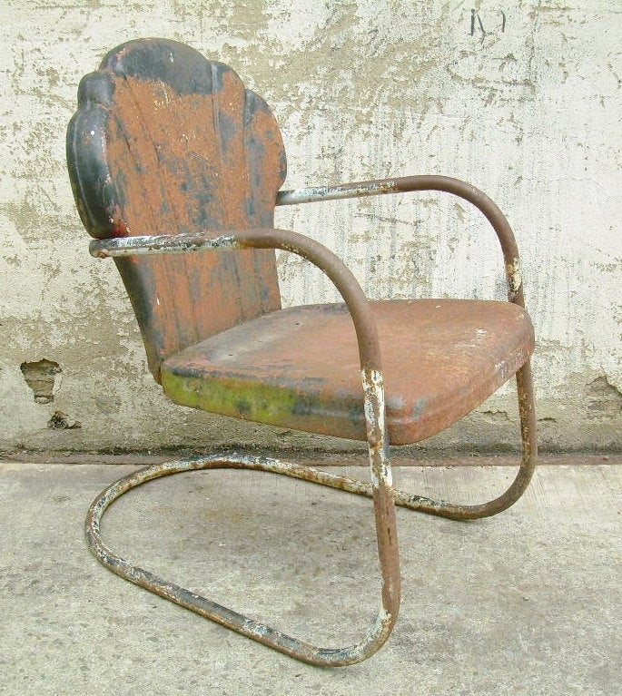 vintage metal lawn chairs you ll love