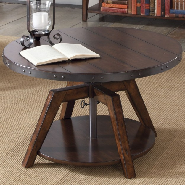 convertible coffee table to dining table - visual hunt