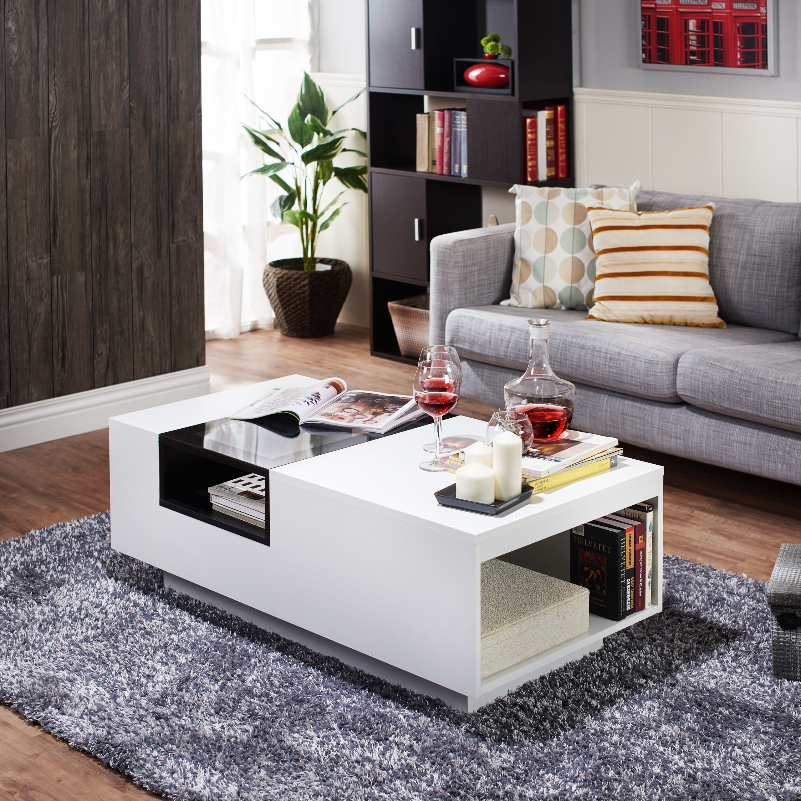 white high gloss coffee table you ll