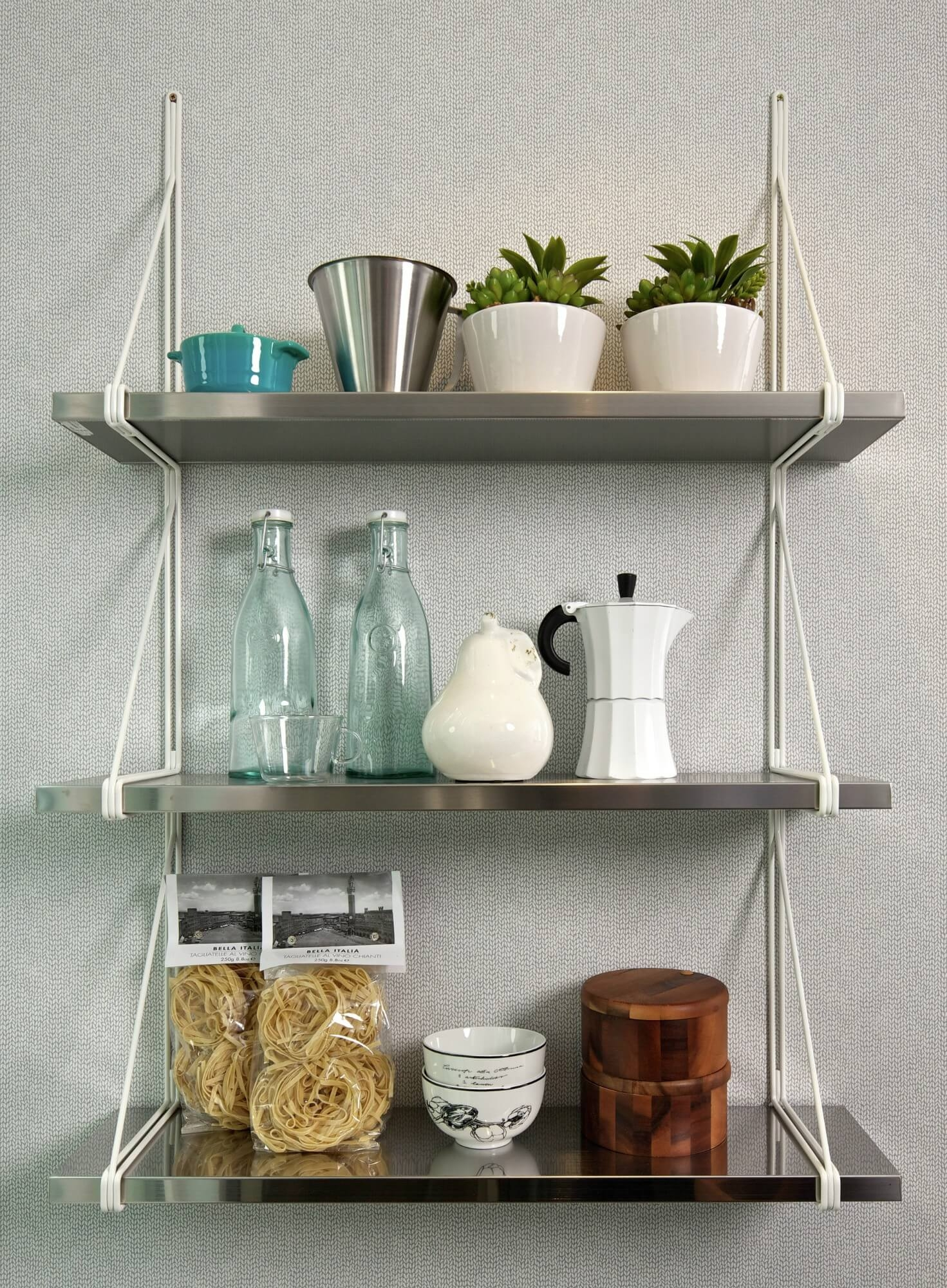 50 Wall Mounted Kitchen Shelves You Ll Love In 2020 Visual Hunt