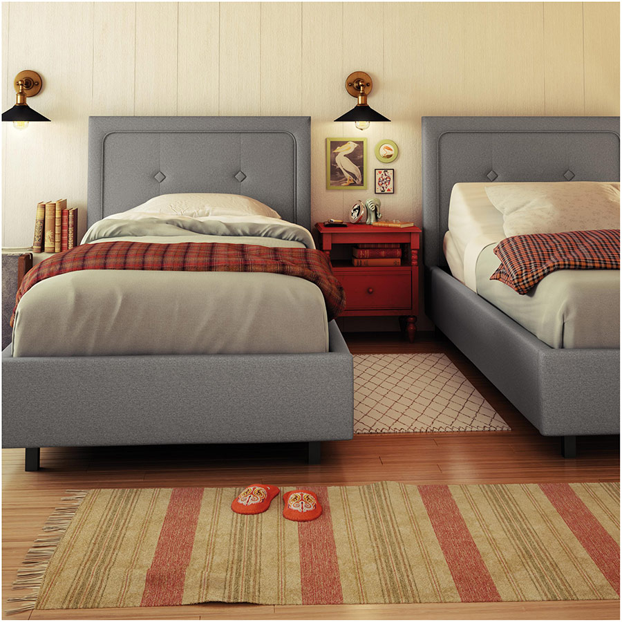 twin xl platform bed you ll love in