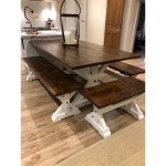 Farmhouse Table With Bench You Ll Love In 2021 Visualhunt