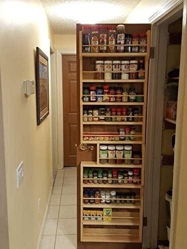 door mount spice rack you ll love in