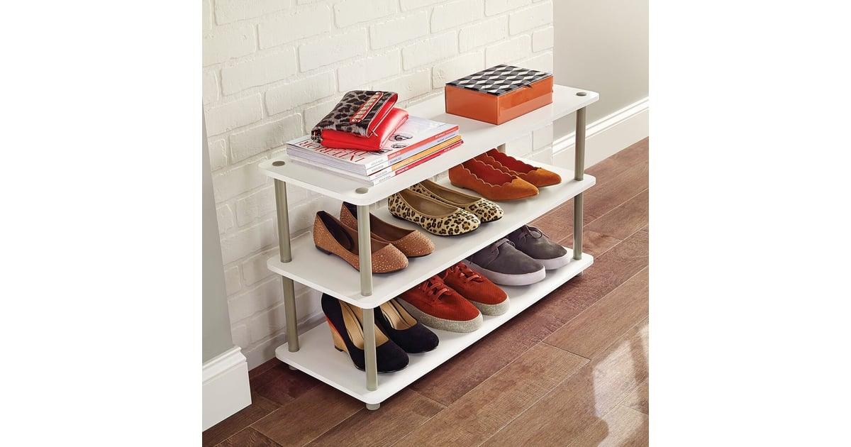 tall narrow shoe rack you ll love in