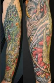 Biomechanical tattoo