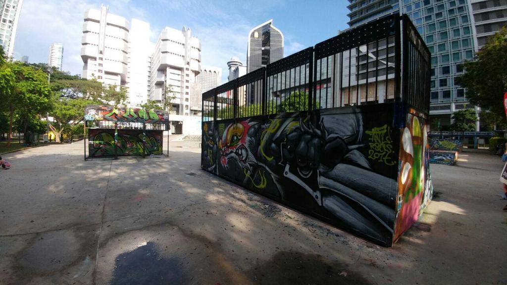Visualinsite - Somerset Skate Park, 1 Somerset Rd, Singapura (07)