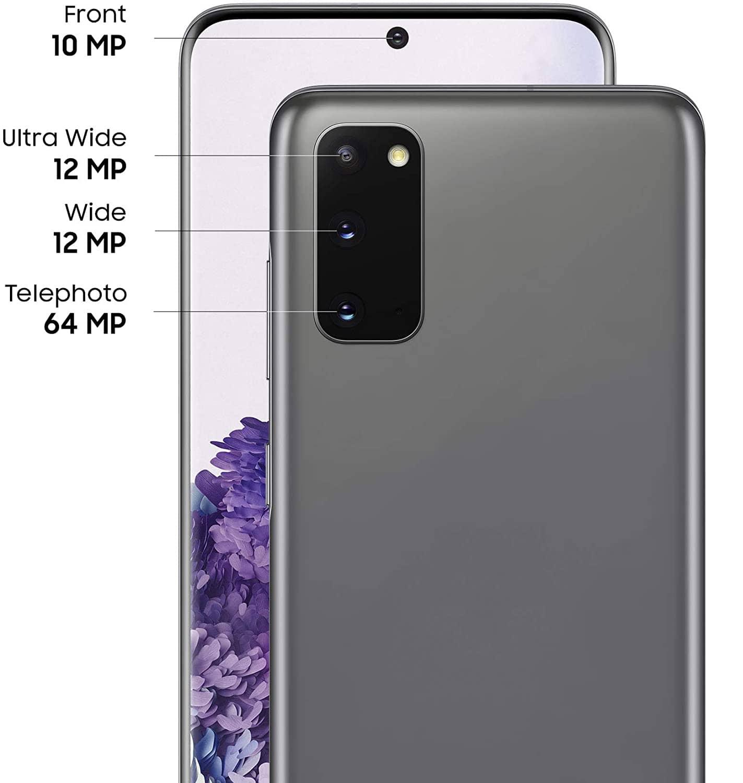 Samsung Galaxy S20 cameras