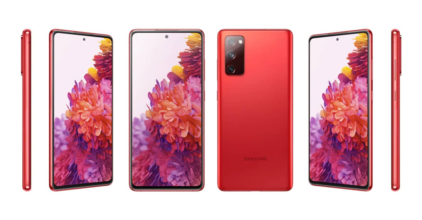 Samsung Galaxy S20 FE design