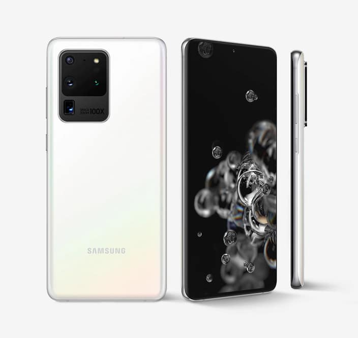 Samsung Galaxy S20 Ultra design