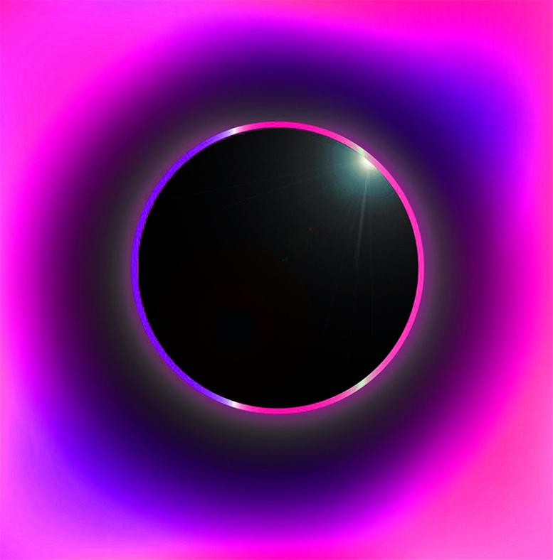 New Moon Solar Eclipse by Sarah Faith Gottesdiener
