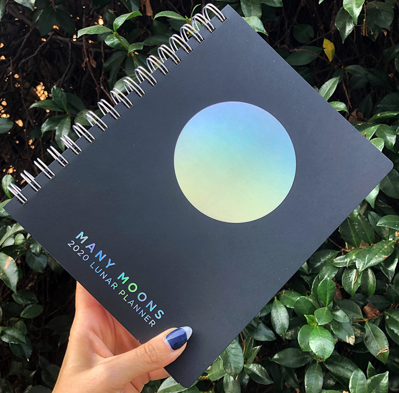 2020 Many Moons Lunar Planner by Modern Women Sarah Faith Gottesdiener Visual Magic Lunar Planner and Workbook