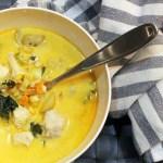 Chickend Kale Corn Chowder recipe