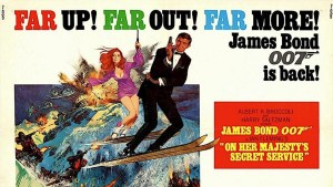 Film poster for On Her Majesty's Secret Service