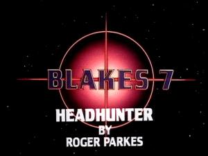 blake's 7 headhunter by roger parkes