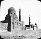 Cairo: Mosque Emir el Gisch, exterior. Tombs of Caliphs