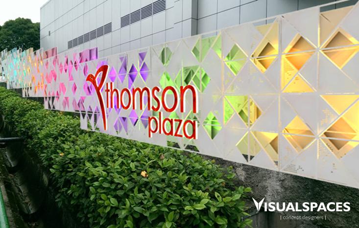 Thomson Plaza - Facade Wall