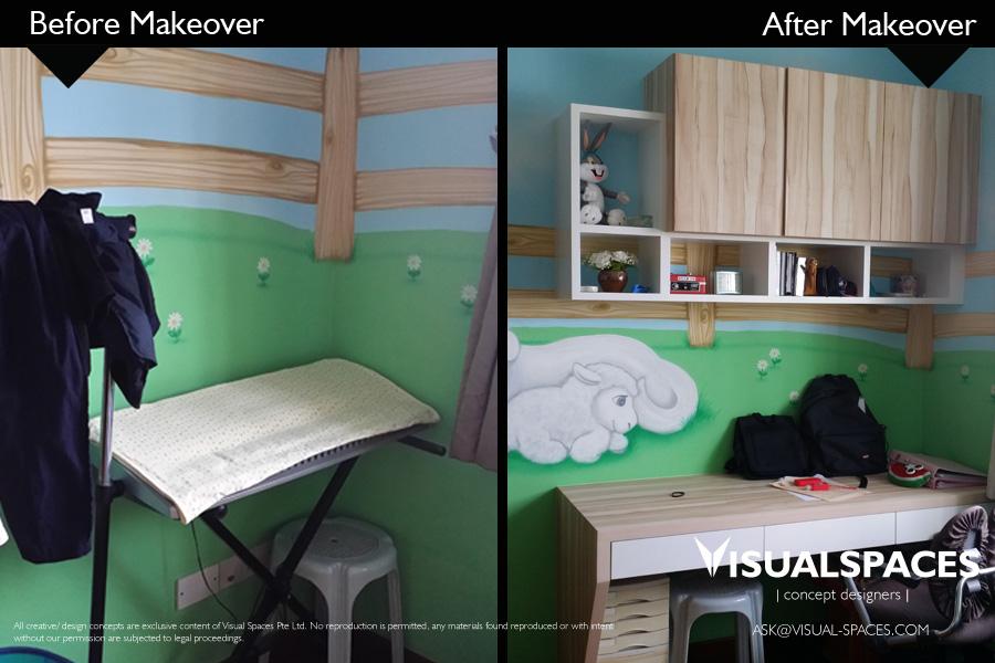 Bedroom Design After Renovation Makeover - The Gardens at Bishan