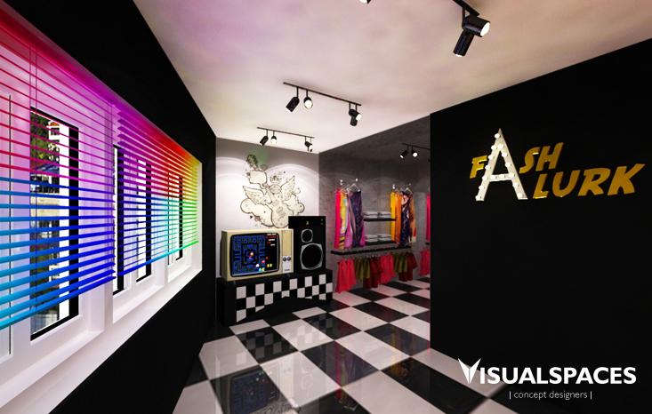 Fashlurk Fashion Retail Shop Boat Quay - Shop Interior View 3