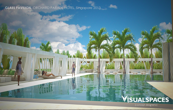 Orchard Parade Hotel - Glass Pavilion View 1