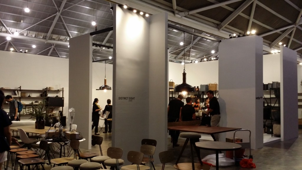 District Eight Design Exhibition Booth at IFFS 2016