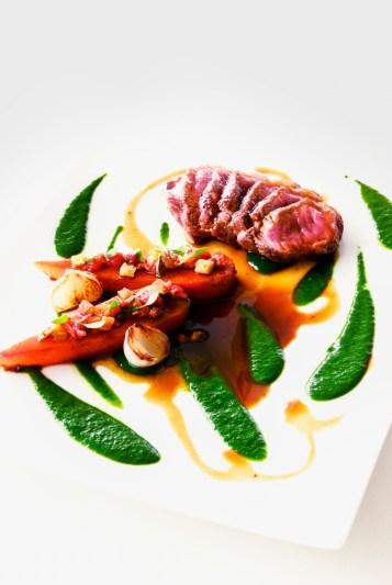 Delicious food at D'Sens