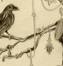crow and the hand of fatima