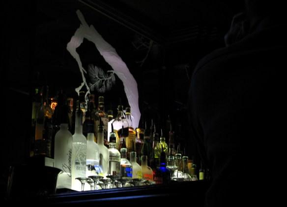 bottles in a bar, San Fransisco