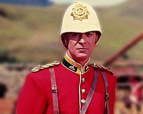 Michael Cain, cochineal uniform