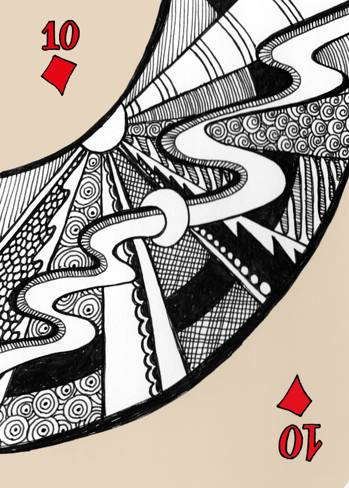 Doodly deck of cards