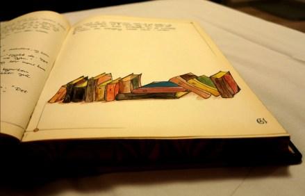 The 12 books.